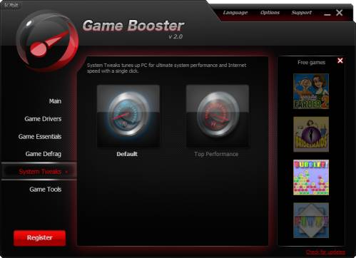 Game Booster 2.1